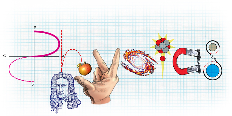 TWDK Physics doodle by Giles Meakin