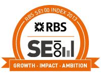 RBS SE100 Social Enterprise Index logo